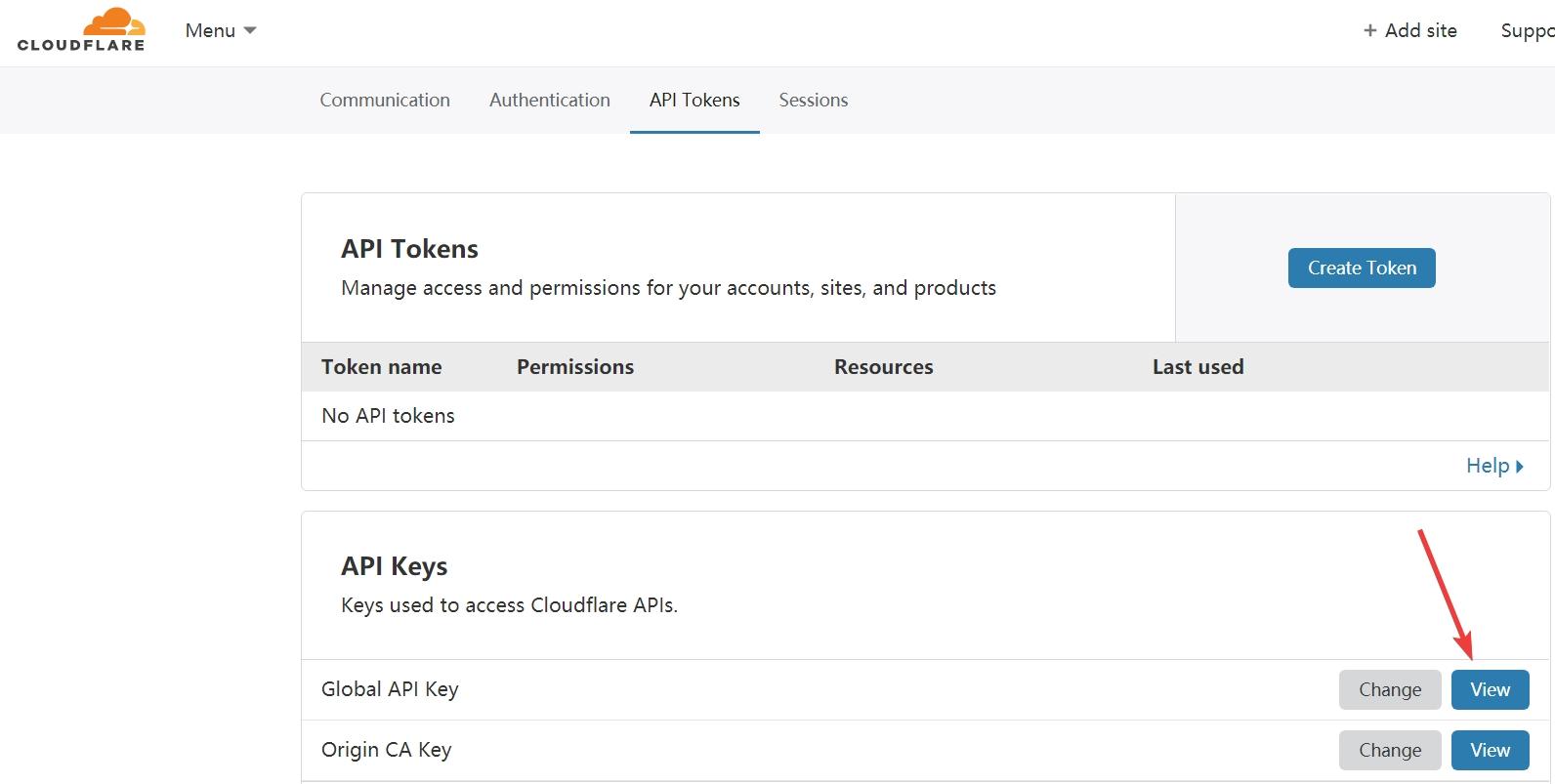 chrome_生成Global API Key.jpg
